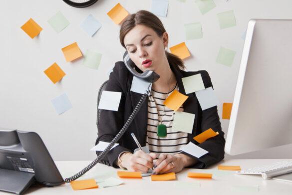 Polno zasedena podjetnica ki potrebuje delegiranje