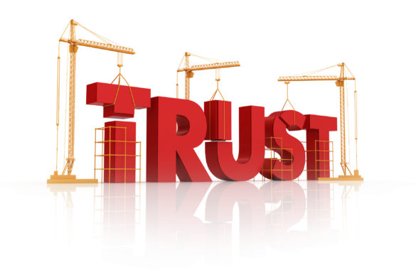 žerjavi in grajenje zaupanja
