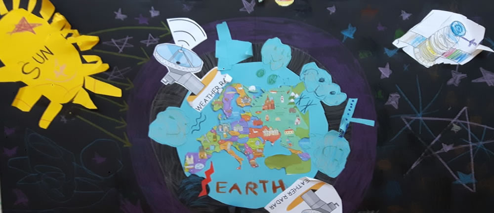 Učenje o zemlji na IES